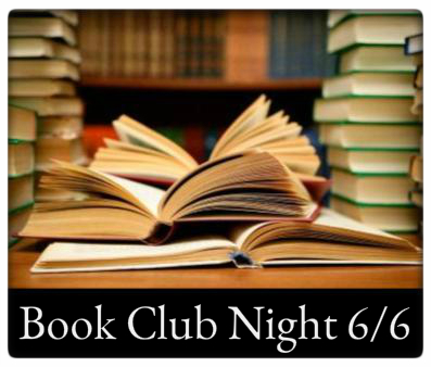 Book Club Night 6/6 6:30pm at The Odyssey