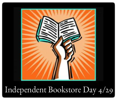 Independent Bookstore Day April 29 10:00am - 6:00pm The Odyssey