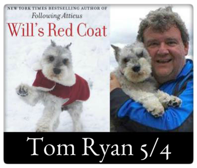 Tom Ryan, Will's Read Coat, May 4th, 7:00pm at The Odyssey