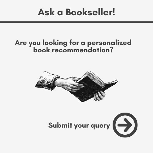 Are you looking for book recommendations? Ask a bookseller! Click here
