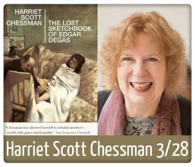 harriet scott chessman, the lost sketchbook of edgar degas, 3/28