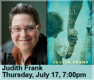 Judith Frank - All I Love and Know - frank