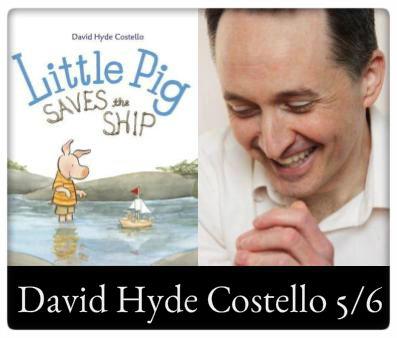 David Hyde Costello May 6 10:30am at The Odyssey