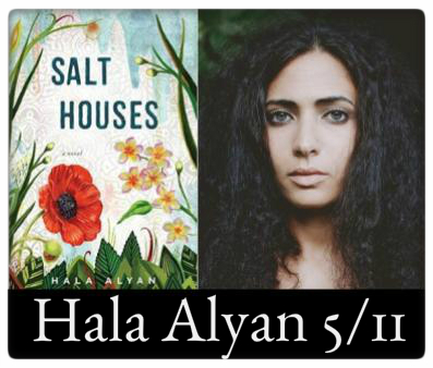 Hala Alyan, Salt Houses, May 11, 7:00pm at The Odyssey