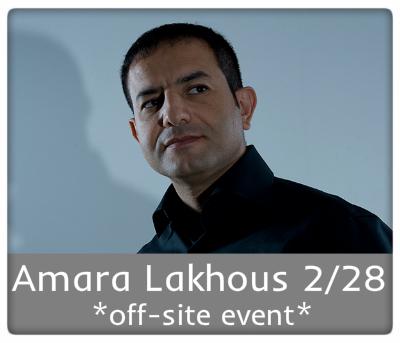 Amara Lakhous 2/28 off-site event