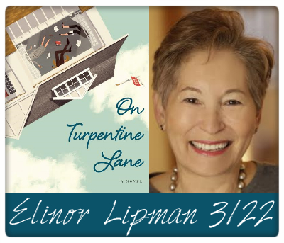 elinor lipman, on turpentine lane, 3/22