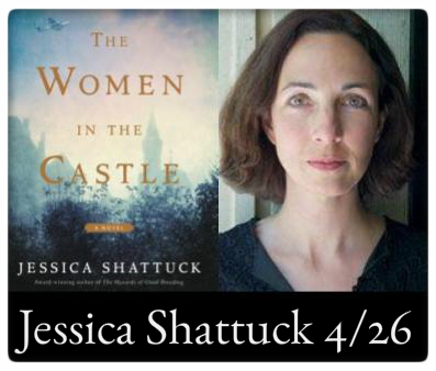 Jessica Shattuck The Women in the Castle at The Odyssey April 26, 7:00PM