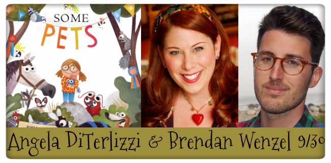 some pets, angela deterlizzi and brendan wenzel, 9/30